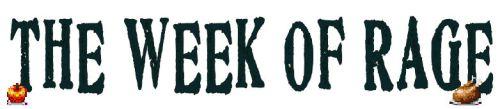 week of rage logo