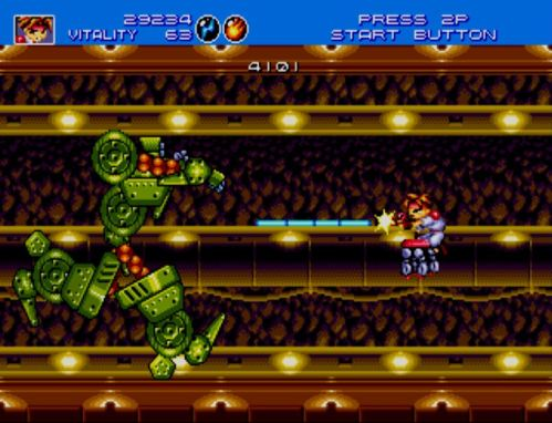Gunstar Heroes Seven Force 1