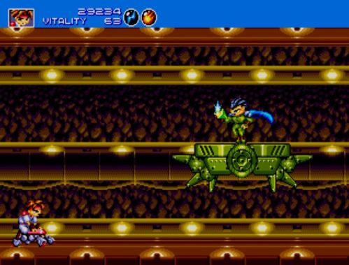 Gunstar Heroes Seven Force