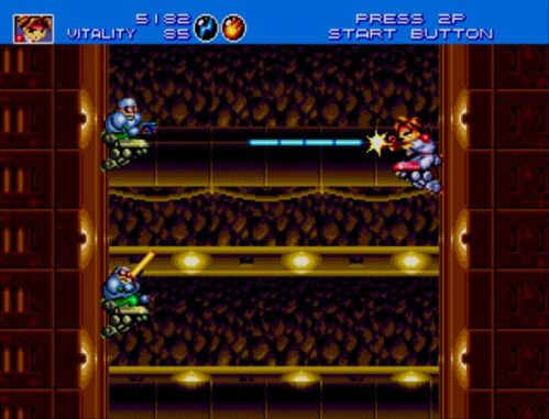 Gunstar Heroes Tunnel 1
